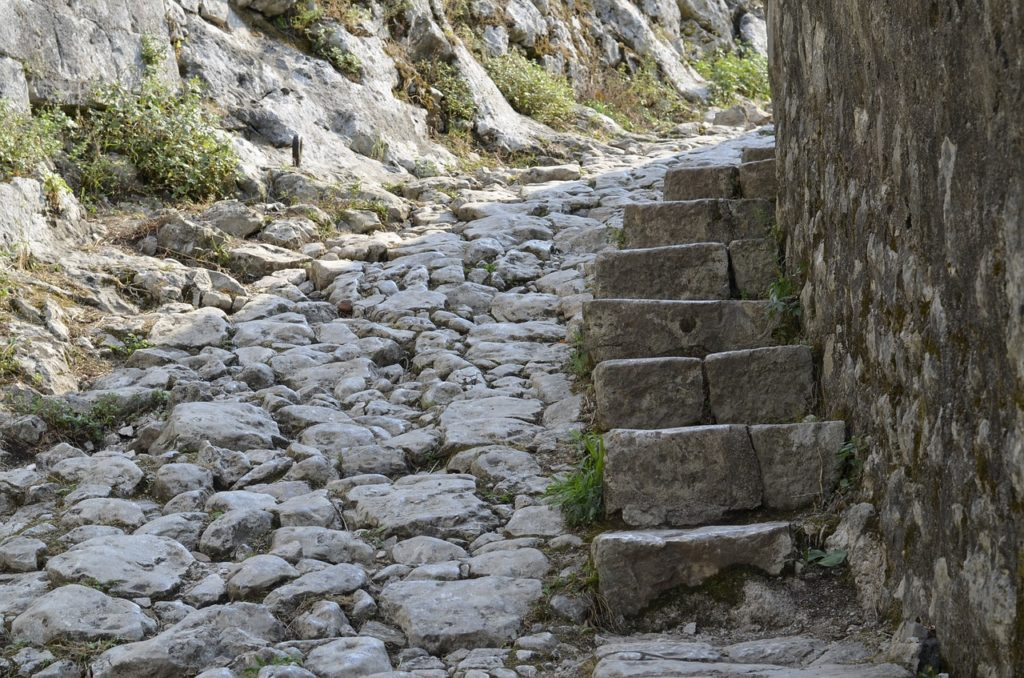 Clark Weeks Travel Info Montenegro - stone stairs